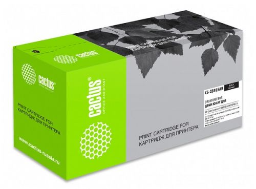 Блок фотобарабана Cactus CS-CB385AR ч/б:23000стр. для CLJ CM6030/6040/CP6015 HP фотобарабан hp барабан для clj cm6030 6040 cyan cb385a