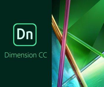 Adobe Dimension CC for teams 12 Мес. Level 1 1-9 лиц. Education Named