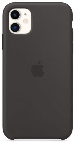 Чехол Apple MWVU2ZM/A для iPhone 11, silicone, , black  - купить со скидкой