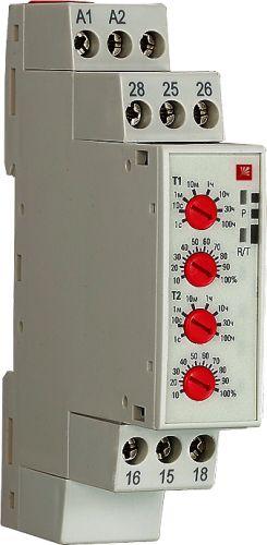 Реле времени EKF rt-2c 2 регулир. порога вр. 2 исп. конт.