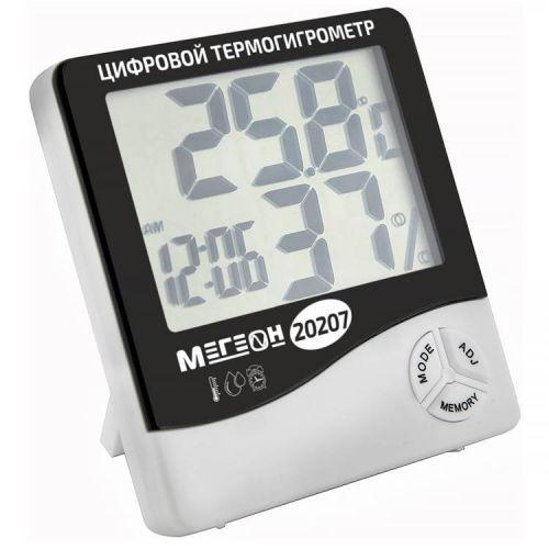 Измеритель температуры и влажности воздуха МЕГЕОН 20207 МЕГЕОН 20207 (термогигрометр)
