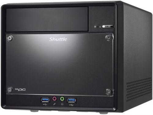 Shuttle Платформа Shuttle SH110R4 (H110,LGA1151,2xDDR4(2133M),SATA-III,4xUSB 3.0,M.2,5.1HD,HDMI+DP,GLan,300W PSU) RTL