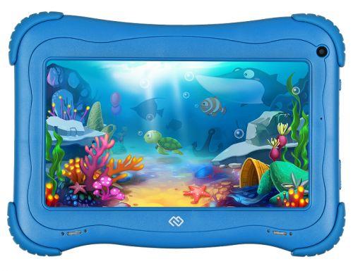 Планшет 7'' Digma Optima Kids 7 TS7203RW1 голубой, 1Gb/16Gb, IPS 1024x600, Android 8.1, 2Mpix/0.3Mpix, BT/WiFi/Touch/microSD 128Gb/minUSB/2500mAh 7 inch 1 din android 8 1 car stereo radio multimedia mp5 player rotation adjustable 4 core 1gb 16gb gps wifi bluetooth fm am