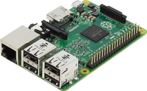 Микрокомпьютер Raspberry Pi 2 Model B Broadcom BCM2836 SoC Quad-core ARM Cortex-A7 @ 900MHz, 1GB RAM