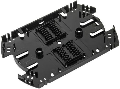 Кассета NikoMax NMF-SPL32-WO сплайс, до 32 КДЗС, с органайзером, АБС-пластик, черная