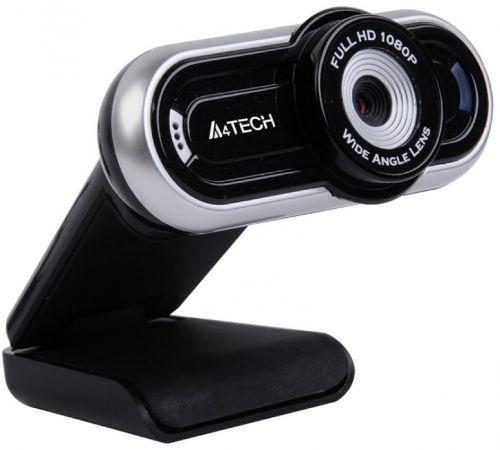 Веб-камера A4Tech PK-920H серый 2Mpix (1920x1080) USB2.0 с микрофоном (1405146)
