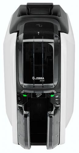 Принтер для печати пластиковых карт Zebra ZC100 ZC11-0000000EM00 односторонний, цветной, USB