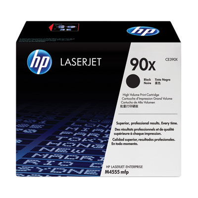 Картридж HP 90X CE390X для принтера LaserJet M4555MFP/M602/M603 черный 24 000 стр
