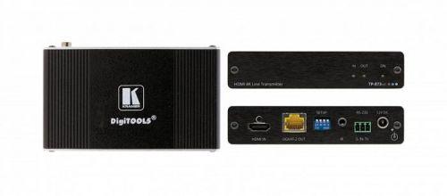Приемник Kramer TP-874XR 50-80524090 HDMI, RS-232 и ИК-сигналов по витой паре DGKat 2.0, поддержка 4К60 4:4:4, PoC