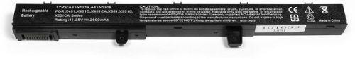 Аккумулятор для ноутбука Asus OEM X551 X451, Series 14. 4V 2600mAh PN: A41N1308, A31N1319, X45Li9C