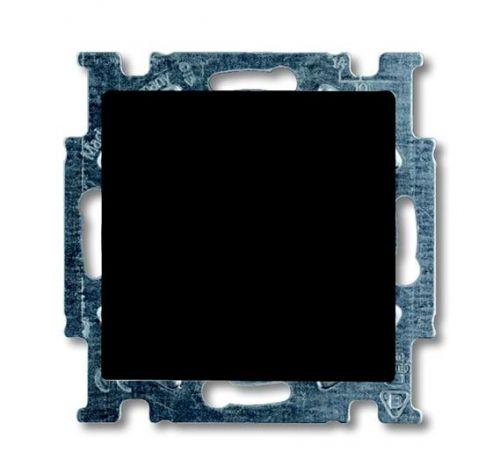 Выключатель ABB 1012-0-2174 BASIC 55 одноклавишный (механизм), 10А, 250В, IP20, в рамку шато (чёрный)