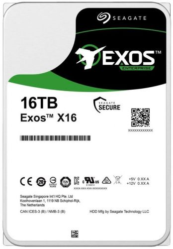 Фото - Жесткий диск 16TB SAS 12Gb/s Seagate ST16000NM002G 3.5 Exos X16 7200rpm 256MB жесткий диск 2tb sas 12gb s seagate st2000nm003a exos 7e8 512n 3 5 7200rpm