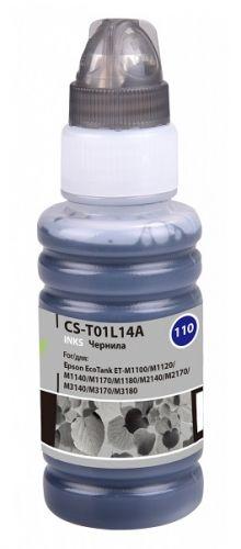 Чернила для заправки Cactus CS-T01L14A черный 70мл для Epson M1100/M1120/M1170/M2140/M2170