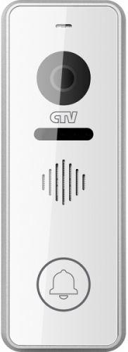 Вызывная панель CTV CTV-D3001 сен. упр., 2 передних декор. накладки в комплекте, 1000 твл, 120°, монт. уголок в комплекте, серебристый