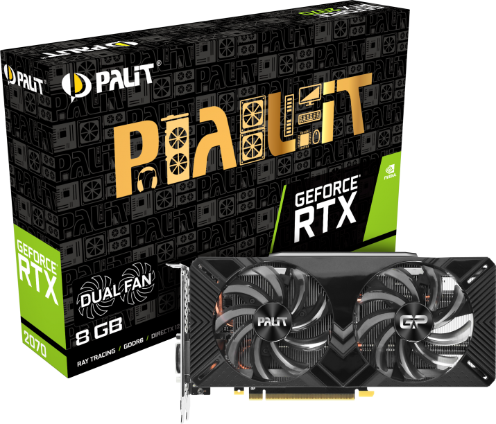 Palit PA-RTX2070 DUAL 8G