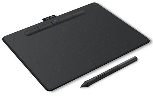 Графический планшет Wacom Intuos M Bluetooth CTL-6100WLK-N black, bluetooth