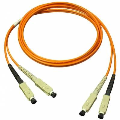 Кабель патч-корд волоконно-оптический Vimcom SC-SC duplex 50/125 10m