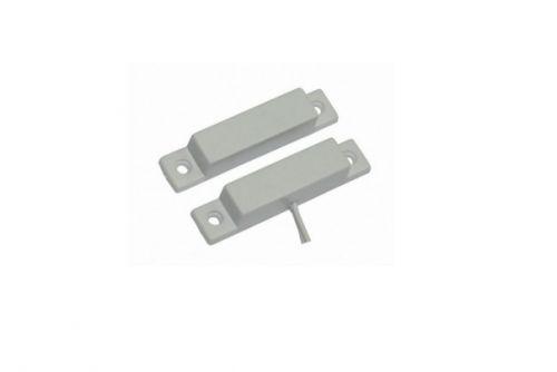 Датчик Smartec ST-DM120NC-WT магнитоконтактный, НЗ, белый, накладной для деревянных дверей, зазор 25 мм
