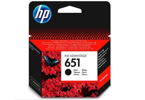 Фото - Картридж HP C2P10AE №651 черный для HP DJ IA картридж hp cz102ae 650 цветной dj ia 2615 200стр