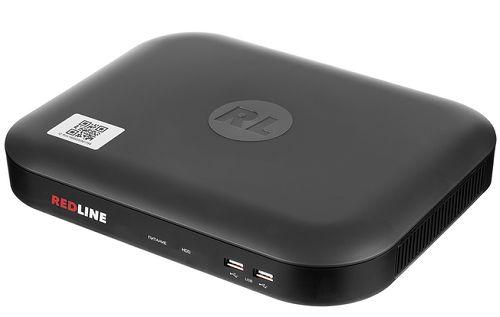 Видеорегистратор REDLINE RL-MHD8p.pebble мультигибрид: AHD/HD-TVI/HDCVI/аналог/IP; видео вход: 8 x BNC; IP-канал: 4 по умолчанию (до 16 Мбит/с) или 12