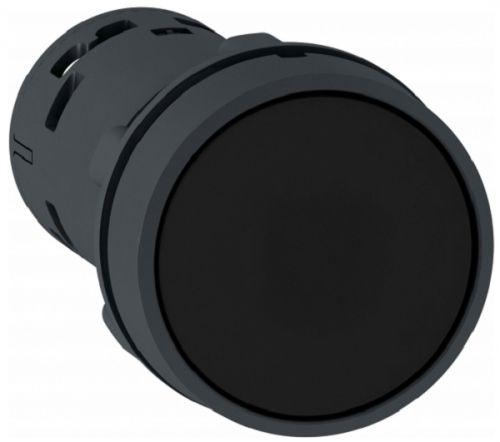 Кнопка Schneider Electric XB7NA25 22мм черная с возвратом НО + НЗ переключатель schneider electric xb5ad41 2 позиции с возвратом 22мм черный