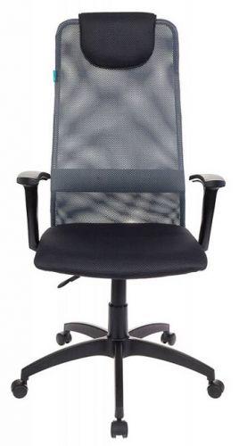 Кресло Бюрократ KB-8 серое, сетка кресло woodville kolum серое