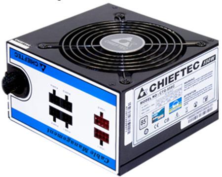 Блок питания ATX Chieftec CTG-750C 750W EPS12 Cab Manag 85+ 12cm Fan APFC (20+4),4+8p, Mod 2(3xSATA), 2(2xMolex+Floppy),2(6+2), 230V Only Retail