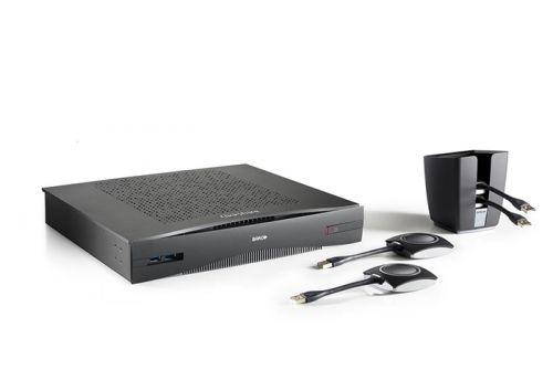 Беспроводной презентер Barco ClickShare CSE-800 R9861580CN 2 USB-кнопки, 16 одновременных подключений, 2 участника на 1 экране, Wi-Fi