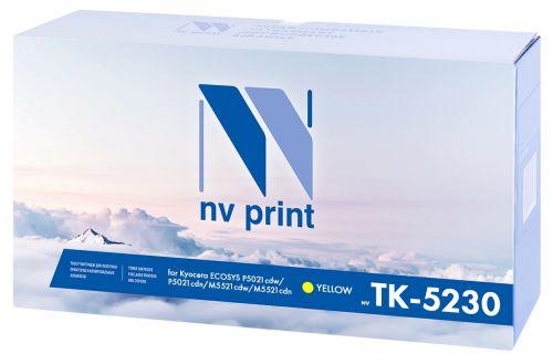 Картридж NVP NV-TK5230Y желтый, для Kyocera ECOSYS P5021cdw/P5021cdn/M5521cdw/M5521cdn, 2200k