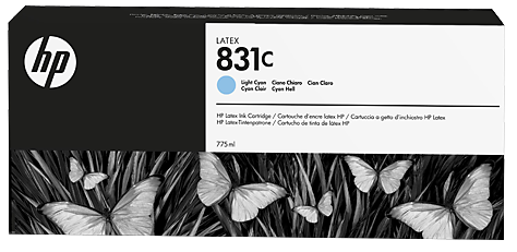 Картридж HP CZ698A № 831, Light Cyan, 775 мл,