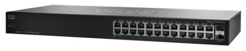 Фото - Коммутатор PoE Cisco SB SG110-24HP-EU 24-Port PoE Gigabit Switch 24 ports poe switch with 2 gigabit sfp port 400w poe switch 24 port full gigabit switch