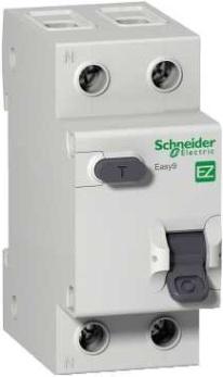 Автоматический выключатель Schneider Electric EZ9D34625 дифференциальный (АВДТ) 1п+N 25А 30мА C AC EASY 9 выключатель автоматический schneider electric easy 9 ez9f34110 10a тип c 4 5ka 1п 230в 1мод