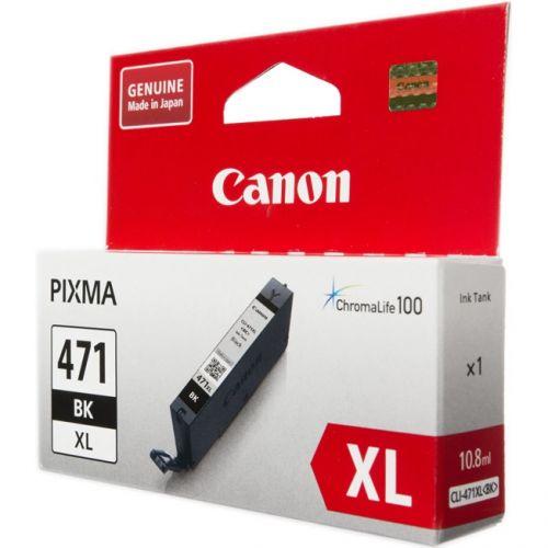 Картридж Canon CLI-471XL BK  - купить со скидкой