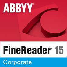 Подписка (электронно) ABBYY FineReader PDF 15 Corporate на 1 год (Standalone)