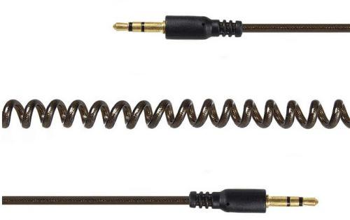 Кабель аудио Cablexpert CCA-405-6 джек3.5/джек3.5, 2м, спиральный