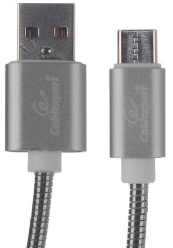 Cablexpert CC-G-USBC02Gy-1M