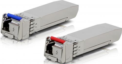 qdsuh 10g Модуль SFP+ Ubiquiti UF-SM-10G-S Fiber, Single-Mode Module, 10G, комплект 2шт