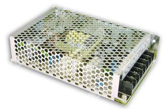 Преобразователь AC-DC сетевой Mean Well NES-100-5 вых: 100 Вт; Выход: 5 В; U1: 5 В; Стабилизация: напряжение; Вход: 110/220В ручной; Конструктив: в ко
