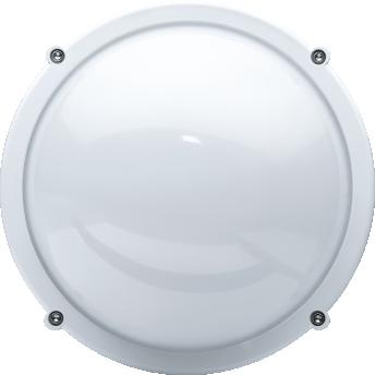 Светильник светодиодный Navigator 18240 ДБП-8w круглый 4000K 560Лм IP65 металлический белый (94827 NBL-R1) светильник светодиодный аргос трейд дбп жкх эконом 7983793
