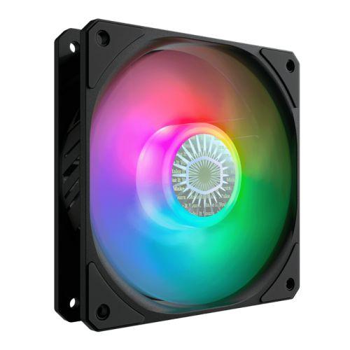Вентилятор для корпуса Cooler Master SickleFlow 120 ARGB MFX-B2DN-18NPA-R1 120x120x25mm, 650-1800rpm, 62 CFM, 8-27 dBA, 4-Pin PWM
