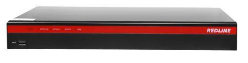 Видеорегистратор REDLINE RL-MHD4z2 Мультигибрид: AHD/HD-TVI/HDCVI/аналог/IP; Видео вход: 4 x BNC; IP-канал: 4 по умолчанию (до 32 Мбит/с) или 8 при от