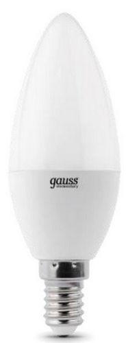 Лампа светодиодная Gauss 33128 LED Elementary Candle 8W E14 4100K 1/10/100 лампа светодиодная gauss 33128 led elementary candle 8w e14 4100k 1 10 100