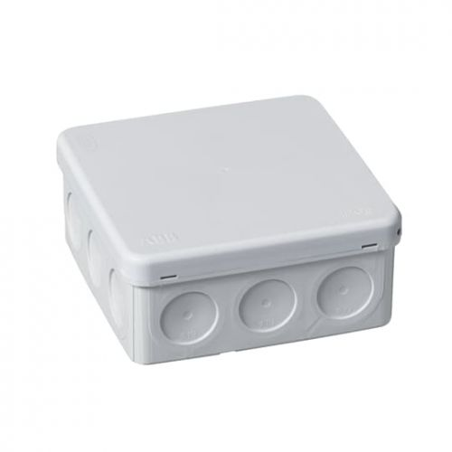 Коробка распределительная ABB 2TKA140003G1 квадратная, 104х104 мм IP 55, серая