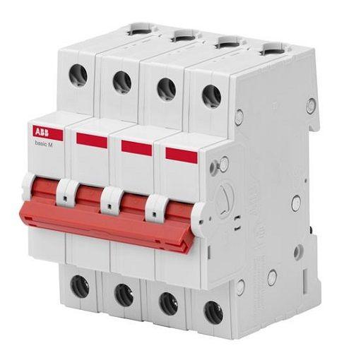 Выключатель нагрузки ABB 2CDD644051R0025 4P 25A BMD51425