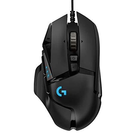 Фото - Мышь Logitech G502 Hero HIGH PERFORMANCE Gaming Mouse 910-005470 black, USB, 16000dpi мышь logitech g502 hero игровая оптическая проводная usb белый и черный [910 006097]