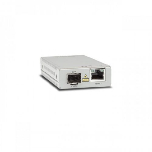 Медиа-конвертер Allied Telesis AT-MMC2000/SP-960 TAA (Federal) 10/100/1000T to 100/1000X/SFP Media & Rate Converter, Multi-region PSU