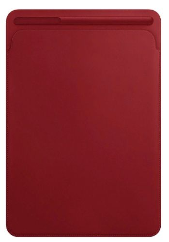 Фото - Чехол Apple Leather Sleeve (MR5L2ZM/A) for 10.5‑inch iPadPro - (PRODUCT)RED чехол для ipad pro 12 9 apple leather sleeve black