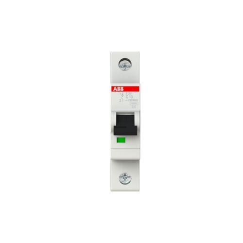 Фото - Автоматический выключатель ABB 2CDS251001R0134 S201 1P 13A (B) 6kA автоматический выключатель abb 2cds251103r0104 s201 1p n 10а с 6ка