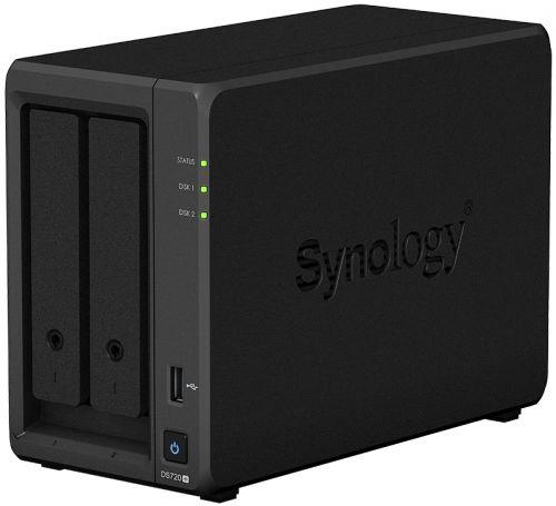 kootion 2gb Сетевое хранилище Synology DS720+ 2-Bay, 2xNVMe (2GB RAM)
