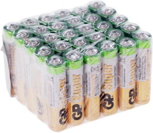Батарейка GP Super Alkaline 24A LR03 24A-B30 1.5V, 30шт, size AAA